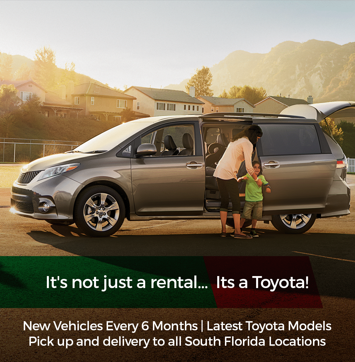 car rental homestead	  South Dade Toyota of Homestead Toyota Rent a Car (TRAC)